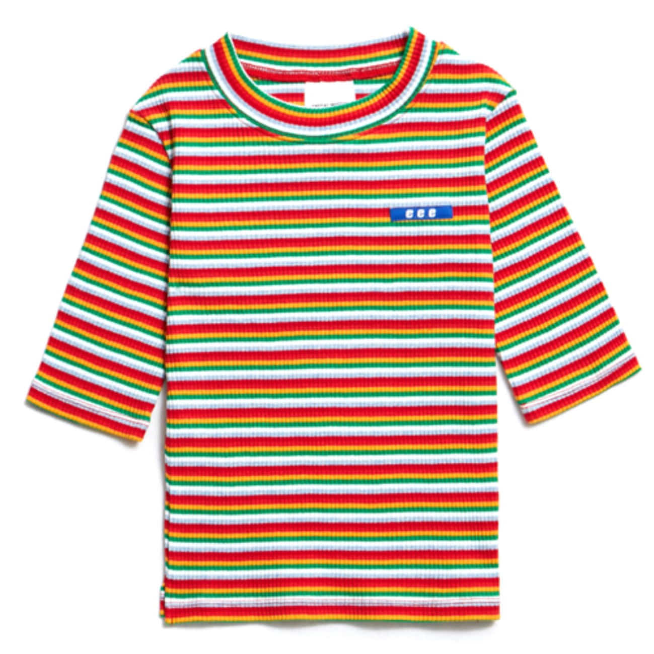 EVAN MULTI STRIPE - WHITE&RED