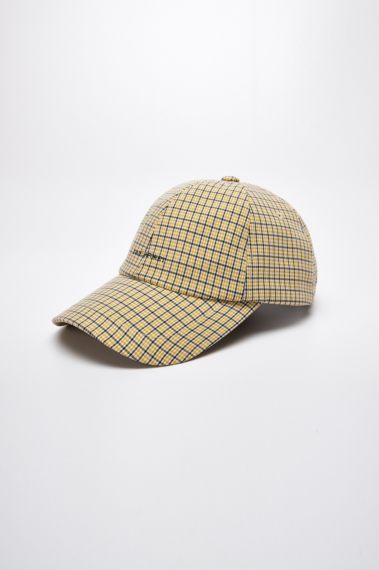 EVAN LOGO CHECK CAP_YELLOW CHECK
