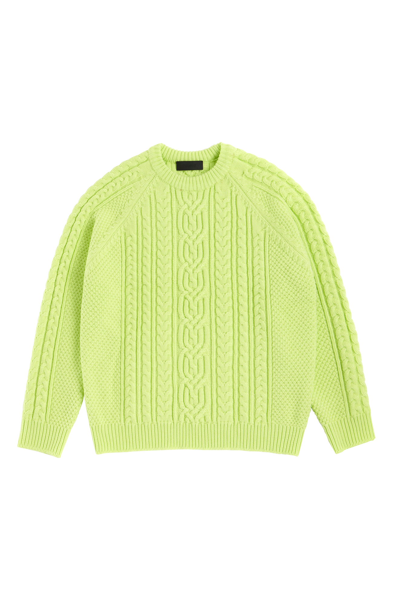Twister sweater lemon