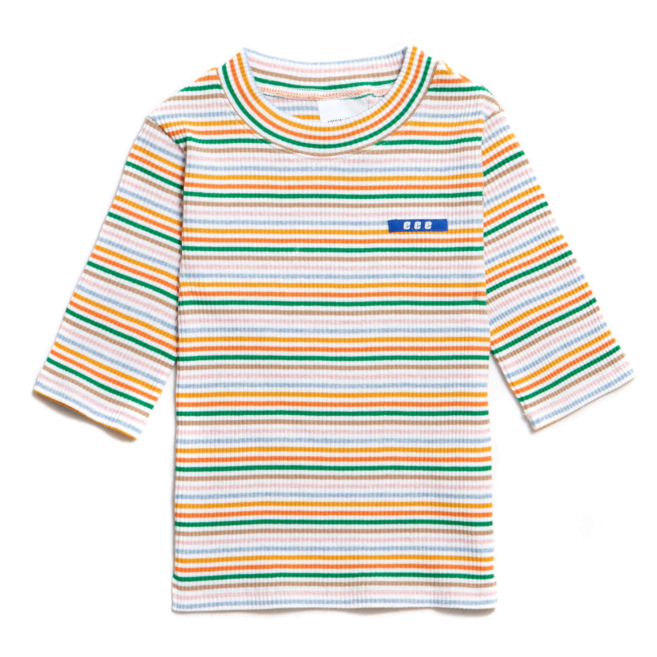 EVAN MULTI STRIPE - WHITE&GREEN