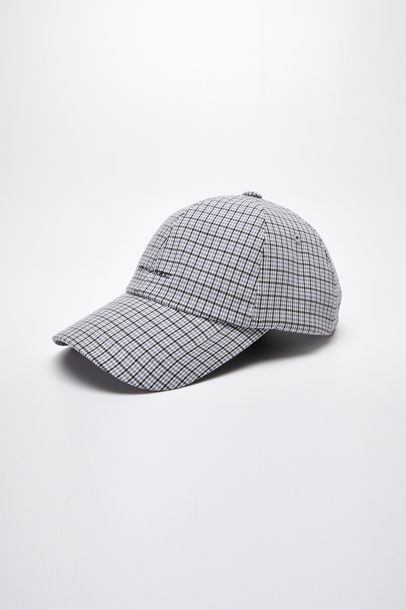 EVAN LOGO CHECK CAP_GREY CHECK