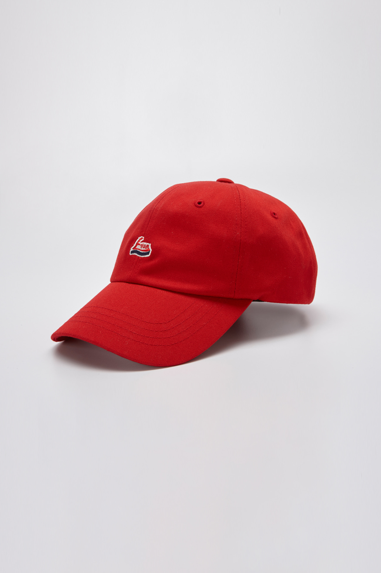 EVAN LOGO CAP RED
